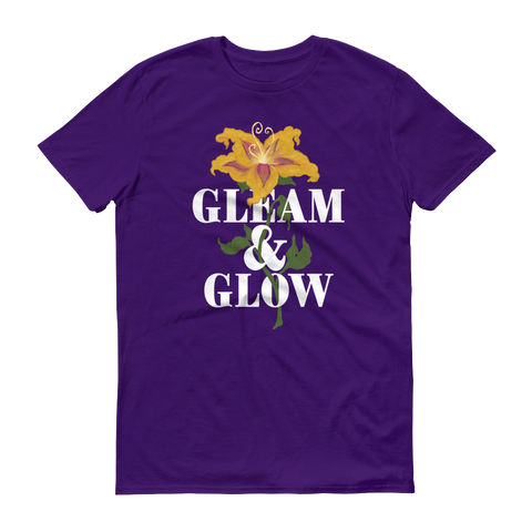 Gleam & Glow unisex short sleeve t-shirt