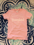 Return to Disneyland *unisex* MILLENNIAL PINK short sleeve t-shirt