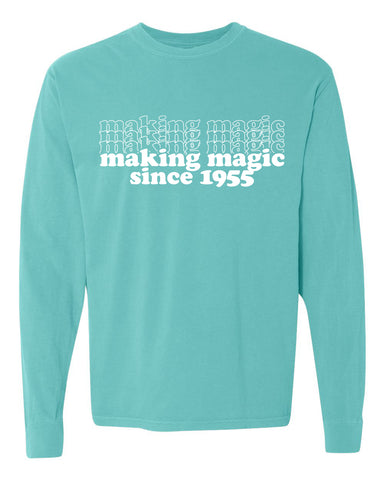 Making Magic '55 unisex long sleeve t-shirt