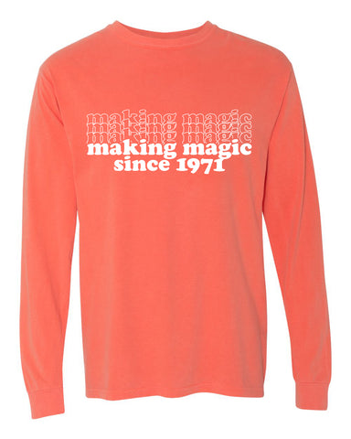 Making Magic '71 unisex long sleeve t-shirt