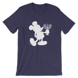 Menorah Mouse unisex short sleeve t-shirt
