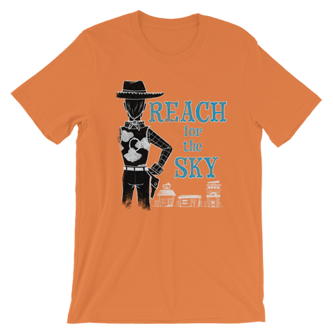 Reach for the Sky unisex short-sleeve t-shirt