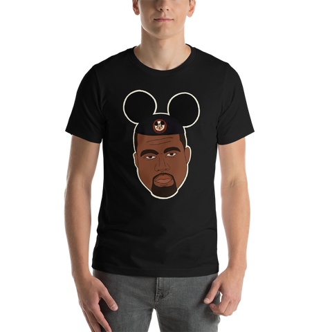 Unhappiest Place on Earth unisex short sleeve t-shirt