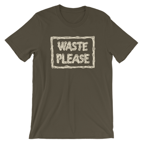 Frontier Trash unisex short sleeve t-shirt