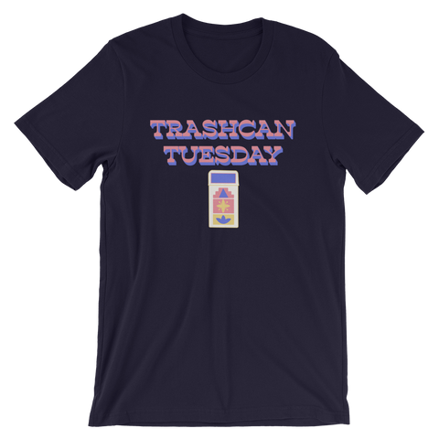MDD Trashcan Tuesday unisex short sleeve t-shirt