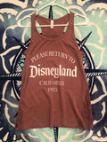 Return to Disneyland women's flowy tank top