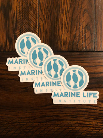 Marine Life Institute sticker