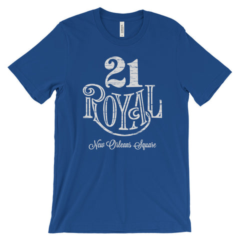 21 Royal unisex short sleeve t-shirt
