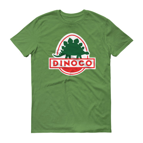 Dinoco Green unisex short sleeve t-shirt