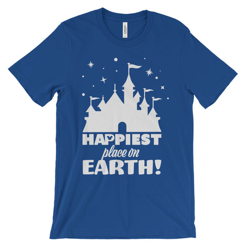 Happiest Place on Earth unisex short sleeve t-shirt