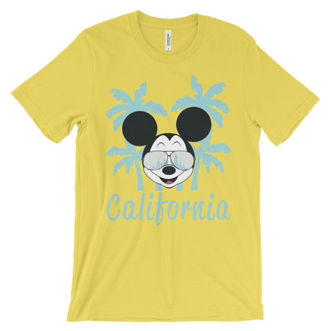 California Dreamin' unisex short sleeve t-shirt