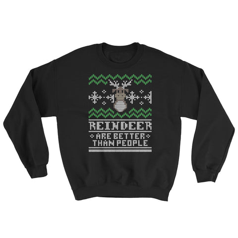 Better Than People unisex pullover sweatshirt