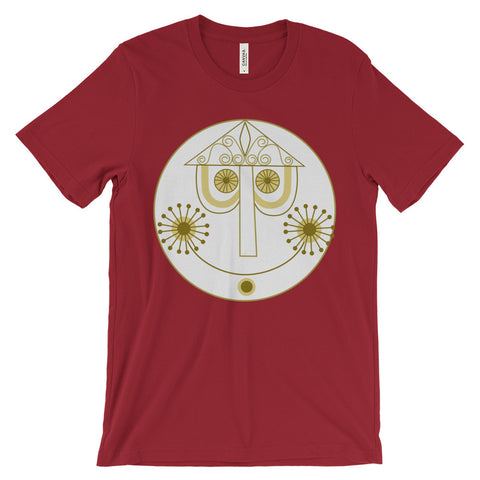 Clockface unisex short sleeve t-shirt