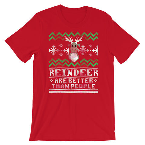 Better Than People unisex short sleeve t-shirt
