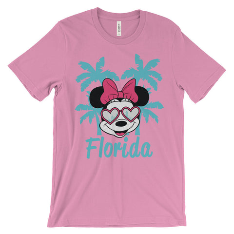 Hearts in Her Eyes (Florida) unisex short sleeve t-shirt