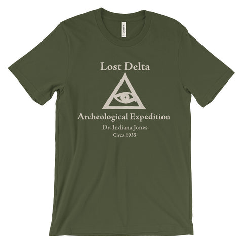 Lost Delta Expedition unisex short sleeve t-shirt