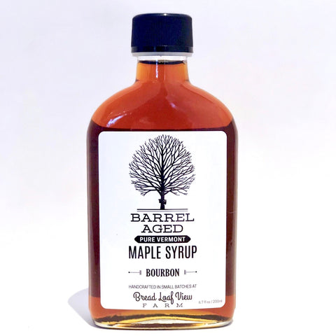 Petite Bourbon Barrel-Aged Maple Syrup