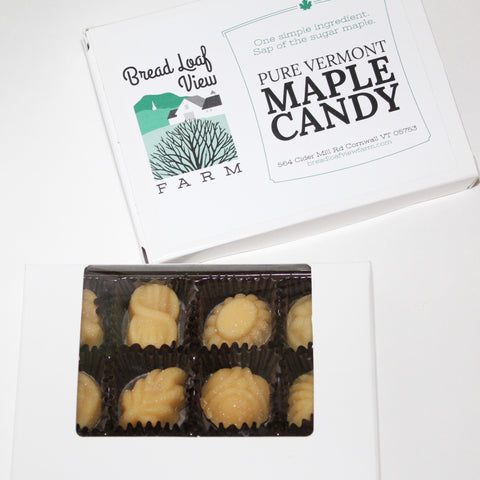 12 Piece Maple Candy