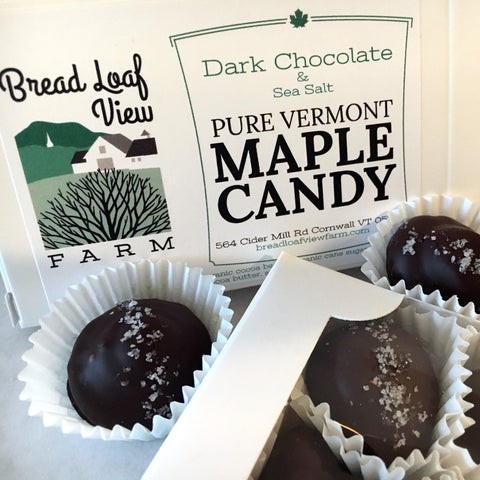12 Piece Chocolate Maple Candy