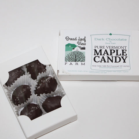 6 piece chocolate maple candy