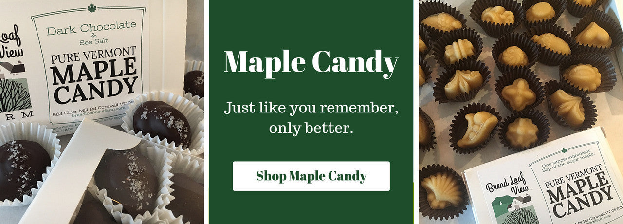Vermont Maple Candies + Chocolate Covered Maple Candies
