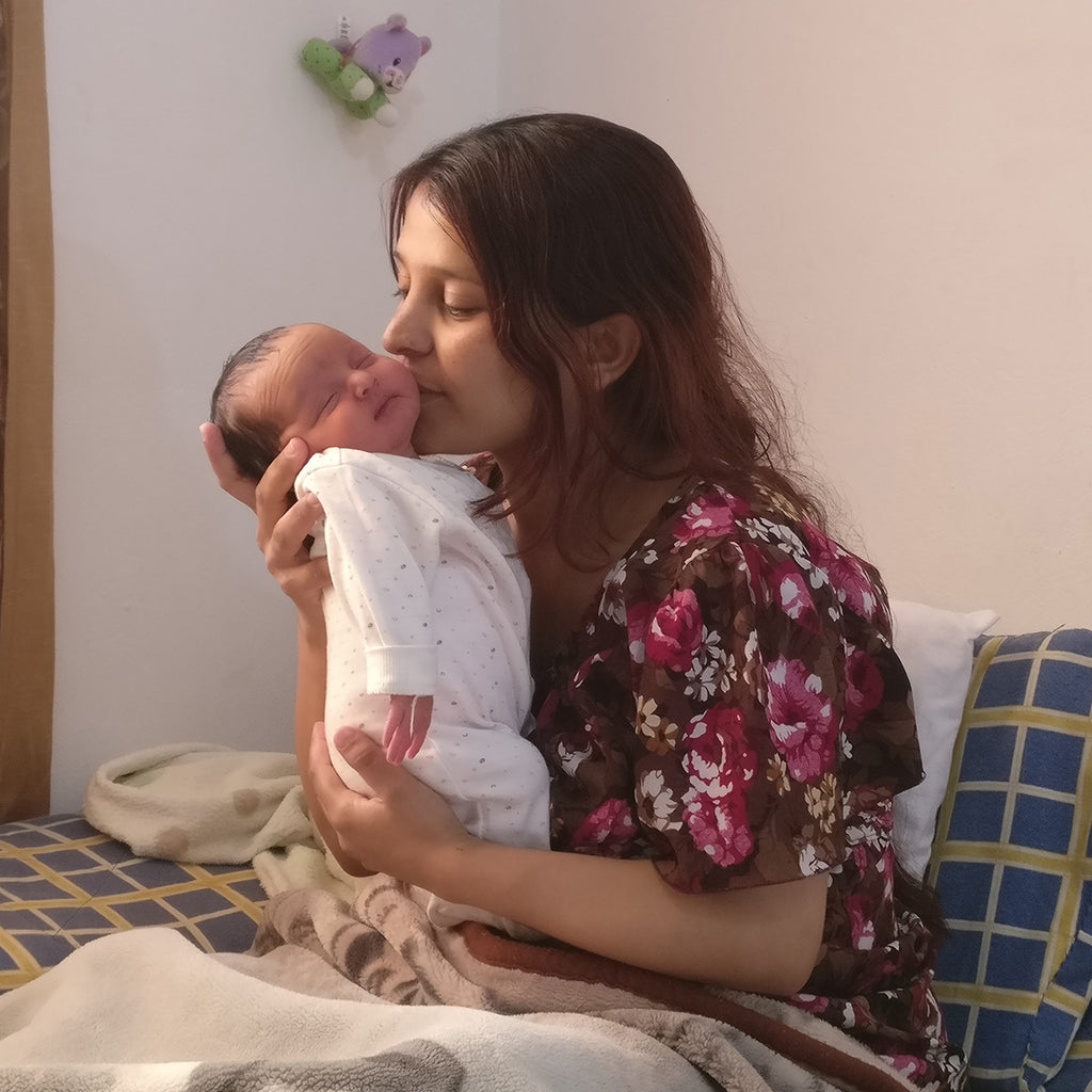 JOURNEY INTO MOTHERHOOD WITH REFUGEE MUM, RAGIDA