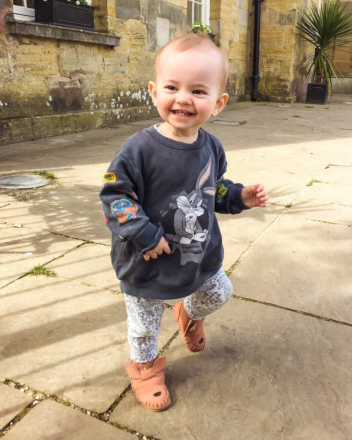 LUTHER IN THE BONNIE MOB LEGGINGS FOR TODDLERS