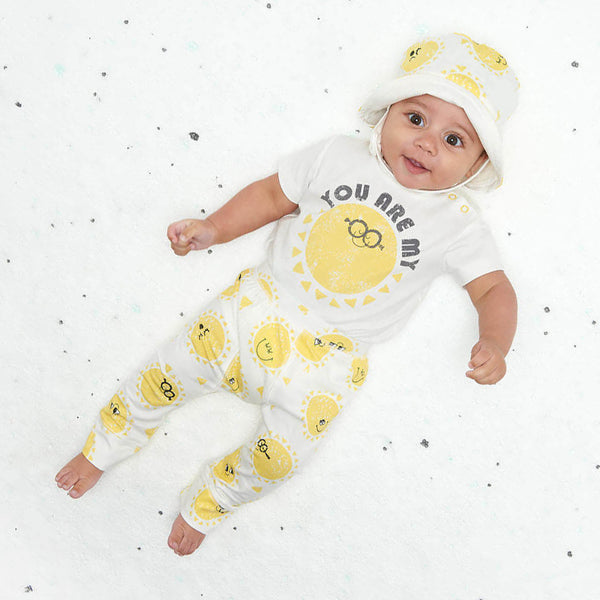 yellow baby outfits for easter