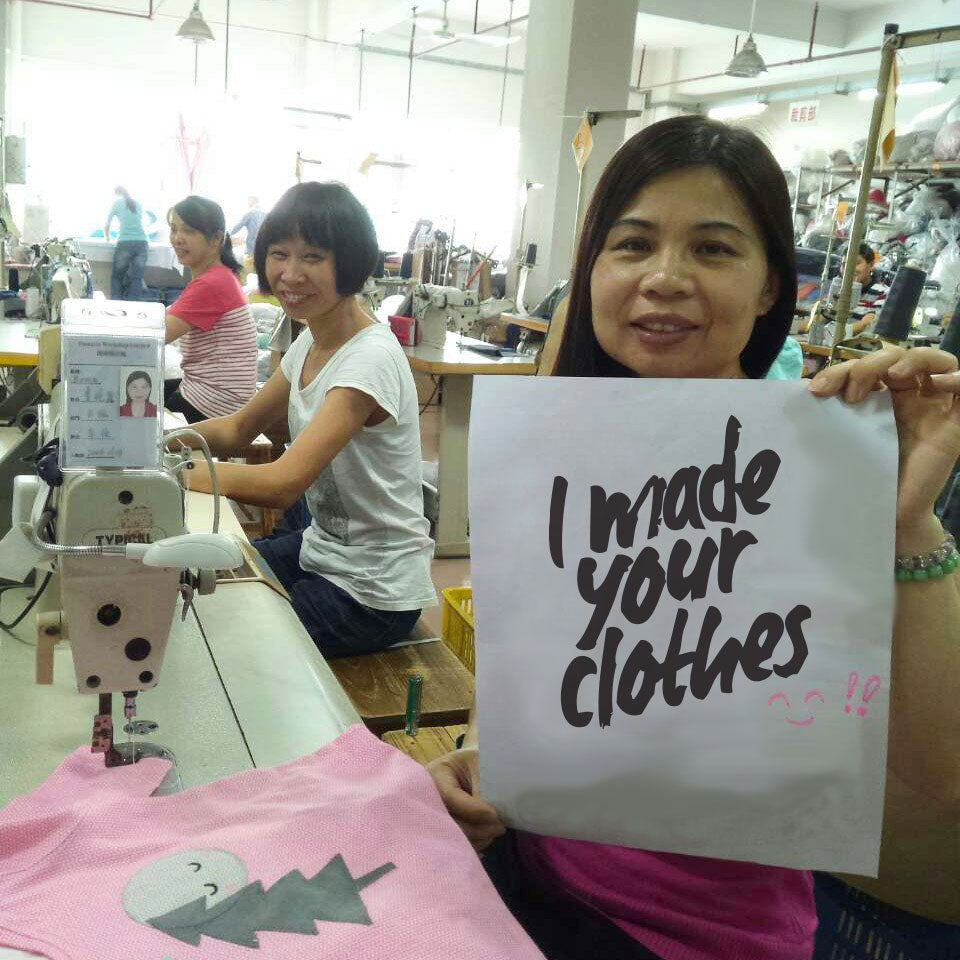 fashion revolution week, bonniemob factory workers