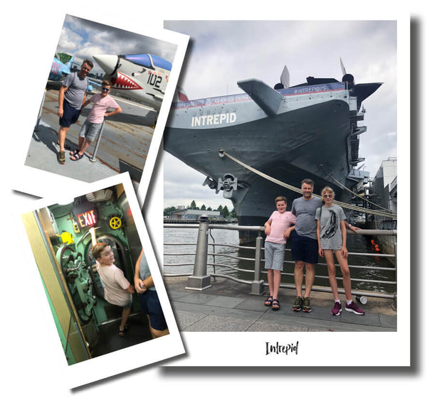 THE INTREPID SEA AIR SPACE MUSEUM NEW YORK - THINGS TO DO WITH KIDS