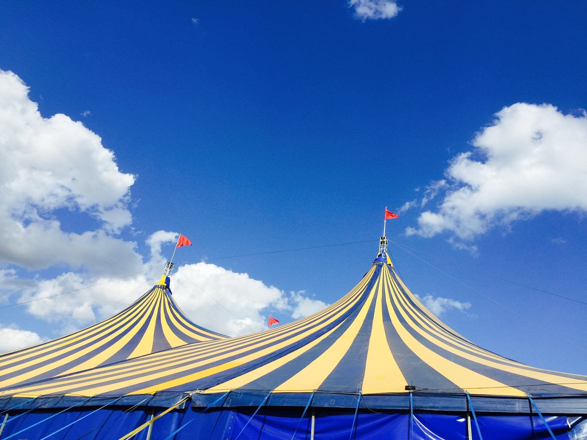 big top tent music stage at latitude festival