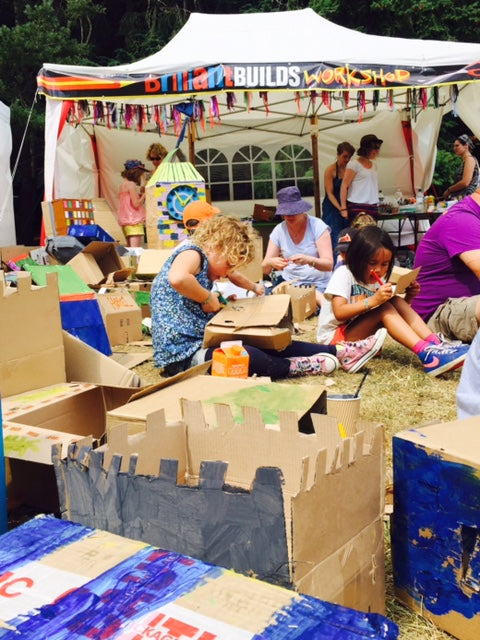 arts and crafts for all the family at latitude festival