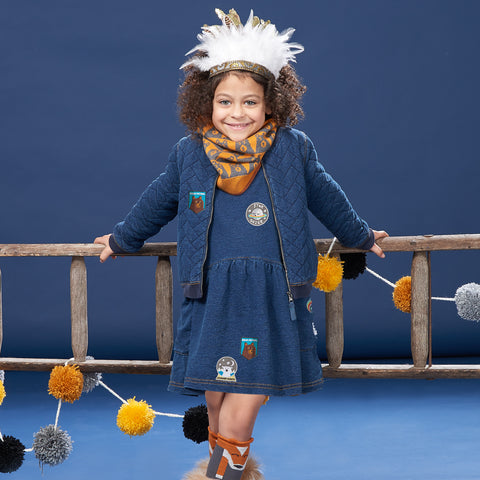 Unisex Kids and Baby Denim - The Bonnie mob children's clothing