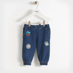Mira Denim Baby Kids Unisex Trousers
