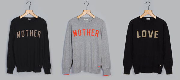MOTHER LOVE cashmere blend collection for Refugee support