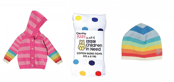 RAINBOW PRODUCTS FOR CHILDREN IN NEED FROM BONNIE BABY