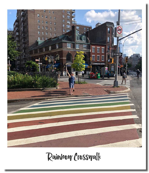 RAINBOW CROSSWALK NEW YORK - THINGS TO DO WITH KIDS