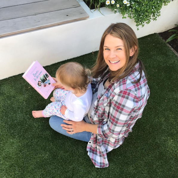 IZZY JUDD AND BABY LOLA WITH BOOK DARE TO DREAM