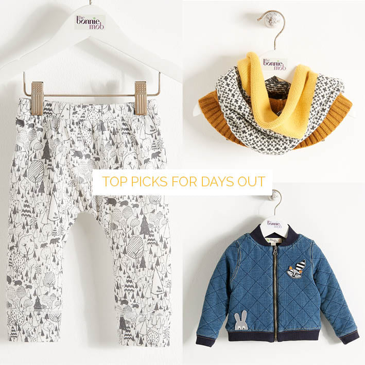Best kids clothes from the bonniemob aw15 collection