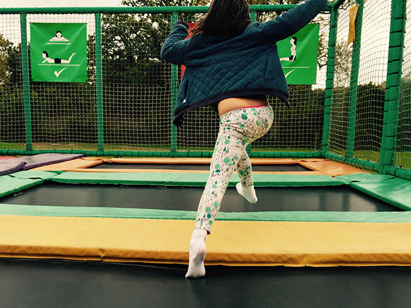 trampolines for kids at tulleys farm