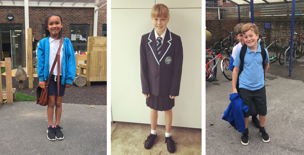 school uniforms from edie, alicy and rhys