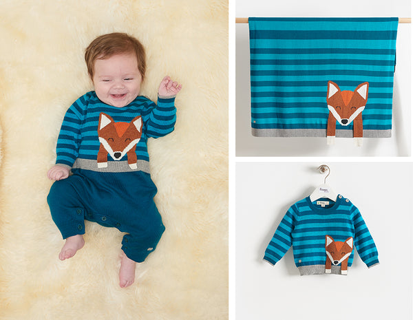 baby boy blue cashmere blend fantastic mr fox clothes