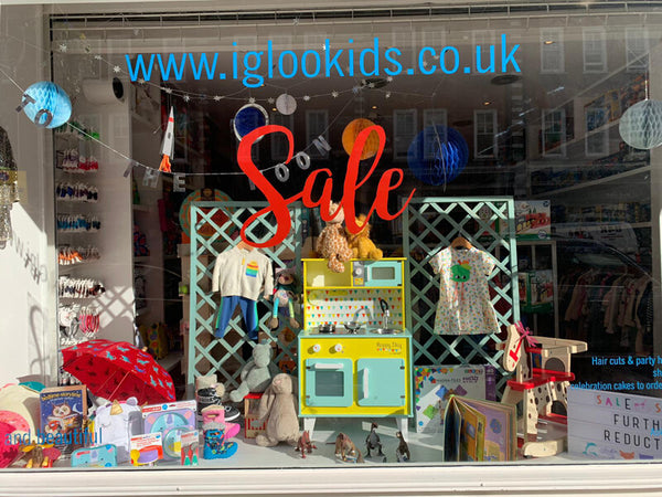 Igloo kids store and boutique st johns wood london