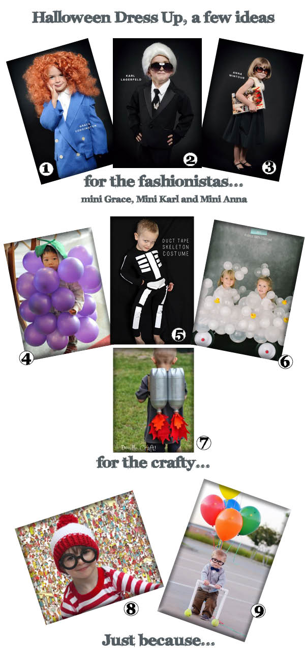 HALLOWEEN DRESS UP IDEAS FOR KIDS