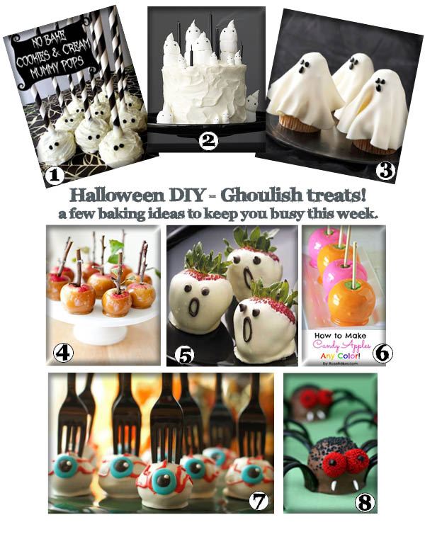 HALLOWEEN BAKING IDEAS FOR KIDS