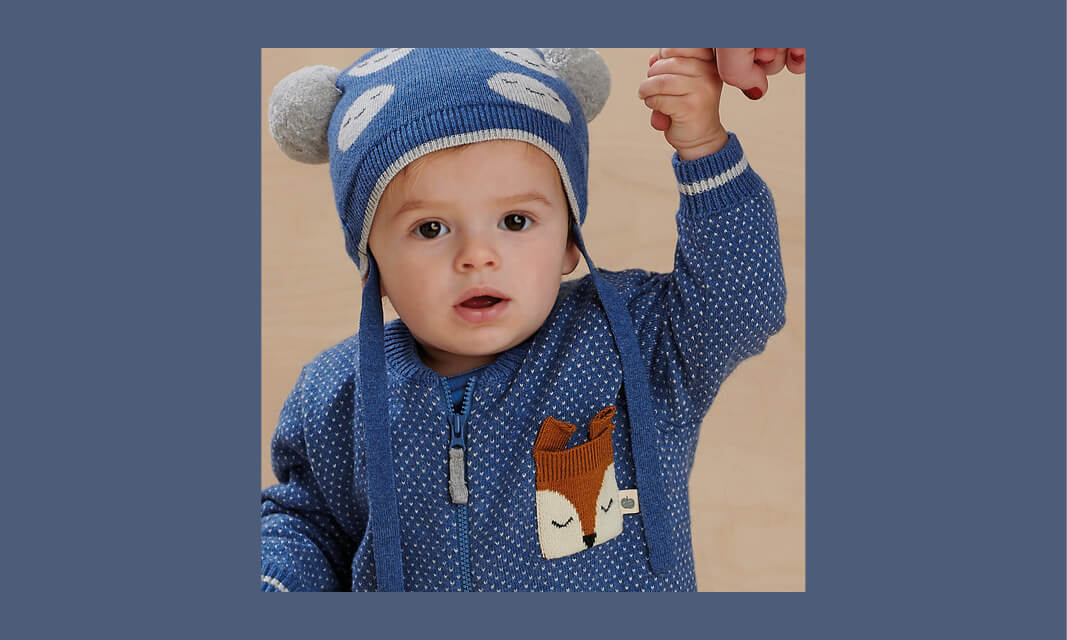 quality sustainable knitwear for babies and kids