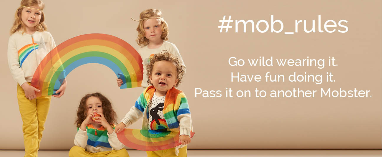 follow the mob rules for quality baby and kids clothes