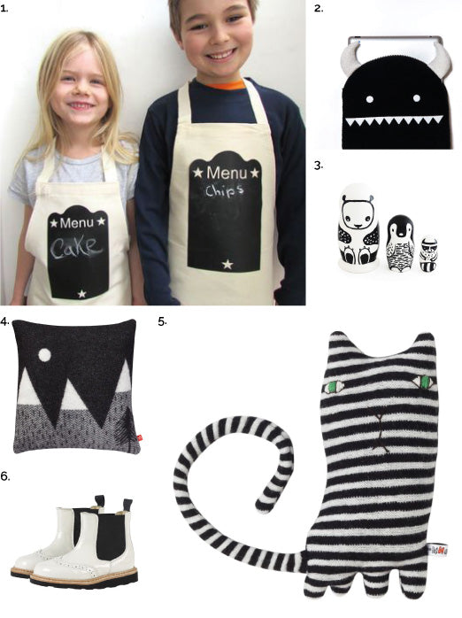 MONOCHROME ITEMS FOR KIDS