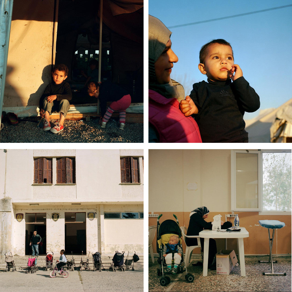 photos from The New Yorker of Refugees in Greece