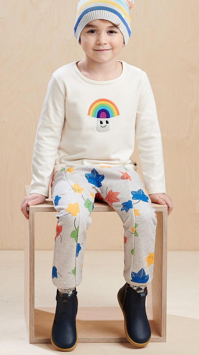 eco friendly rainbow boys outfit